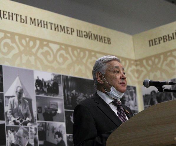В Казани открылась выставка «Лица Республики. Первый Президент Татарстана Минтимер Шарипович Шаймиев»