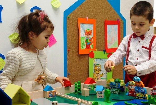 Воспитанием и обучением на татарском языке в Казани охвачено 62% дошкольников