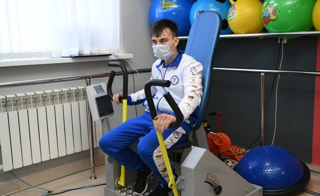 Р. Минниханов ознакомился с работой реабилитационного центра «Я смогу» в Бавлах