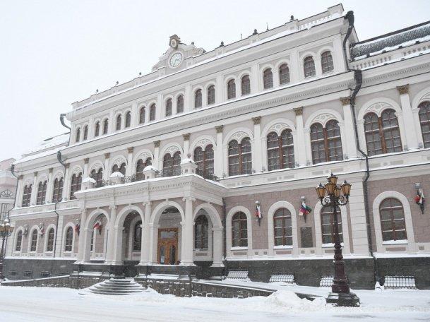 Р. Минниханов вручил республиканские награды на сессии Казгордумы