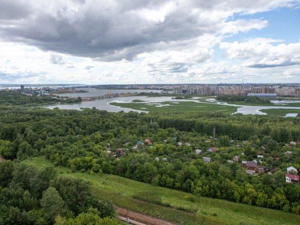 Площадь парковых зон Казани в 2020 г. увеличилась на 20 га