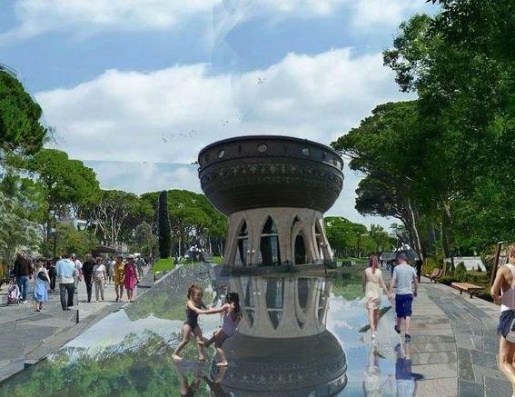7 аллей, оранжерея, дюна будут в парке вдоль Казанки