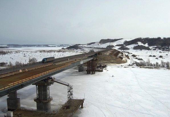 Строительство моста через Свиягу на М7 выполнено на 50%