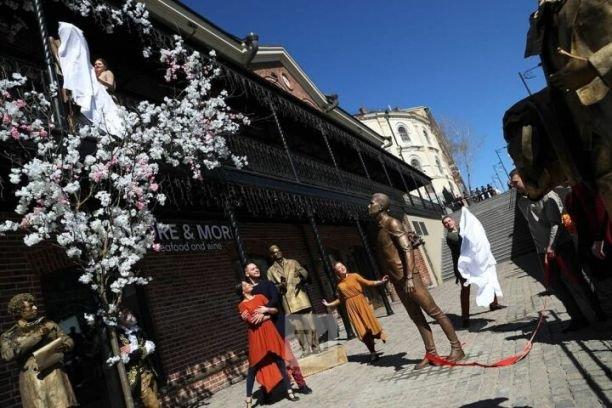 Скульптура «Яратам» на Чернышевского войдет в новый турмаршрут по любовным местам Казани