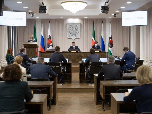 Заседание по вопросам строительства архитектурных объектов в историческом поселении Казани прошло в исполкоме