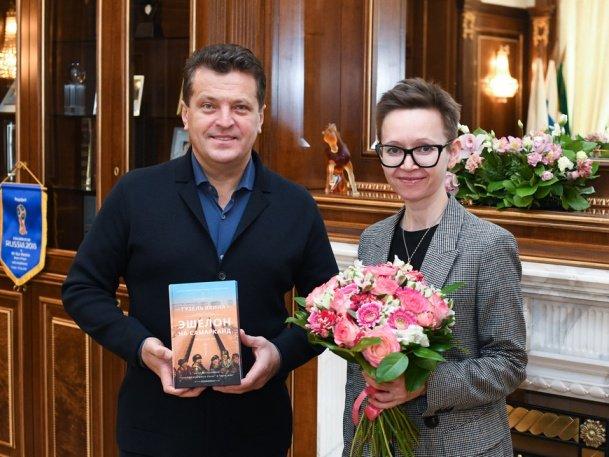 И. Метшин встретился с писательницей Г. Яхиной