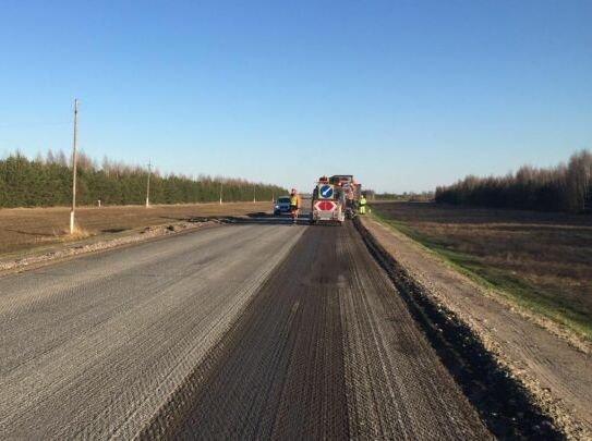 Дорожники в Татарстане по нацпроекту начали ремонт автодороги Столбище — Атабаево