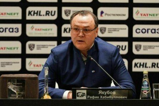 ХК «Ак Барс» объявил об уходе Р. Якубова с поста генменеджера клуба