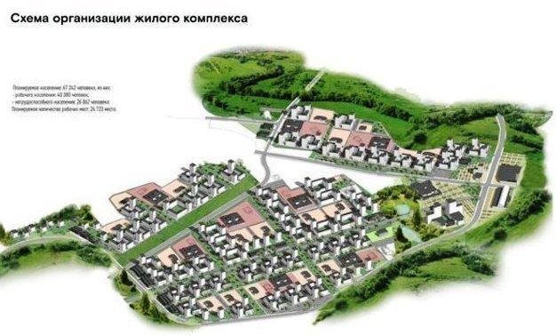 В Казани возведут новый район «Яблоневые сады»