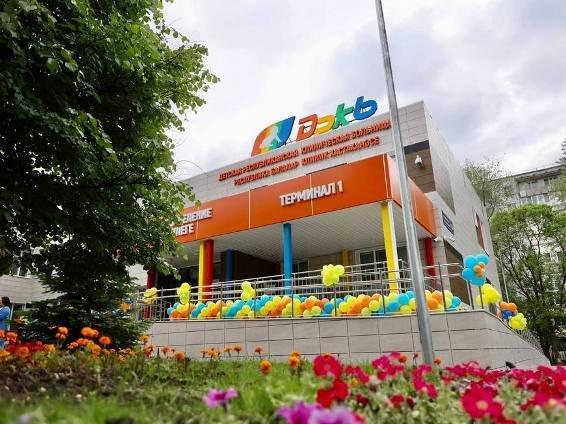 В Казани открыли обновленный лечебный корпус ДРКБ