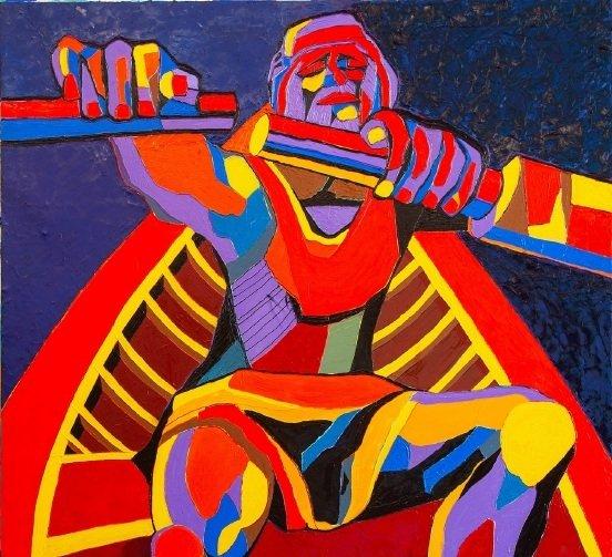 В казанской галерее «БИЗОN» откроется выставка картин Ф. Конюхова