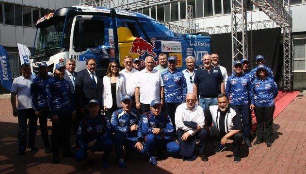 «КАМАЗ-Мастер» презентовал спортивный грузовик семейства К5