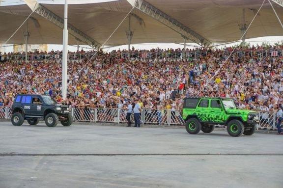 День молодежи в Челнах посетили около 100 тыс. человек