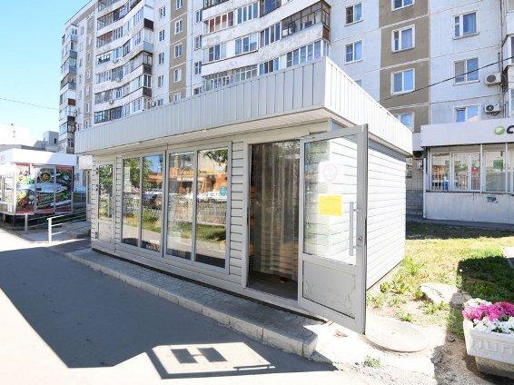 С начала года в Казани демонтировано 175 нестационарных торговых объектов