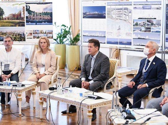 Жюри конкурса на лучшую концепцию развития территории на правом берегу Казанки приступило к обсуждению проектов