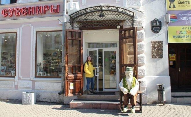 В Казани туристам меньше всего нравятся ростовые куклы на Баумана