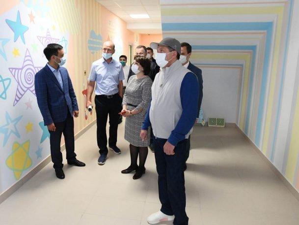 Мэр Казани оценил качество нового детского сада на 220 мест в ЖК «Мой ритм»